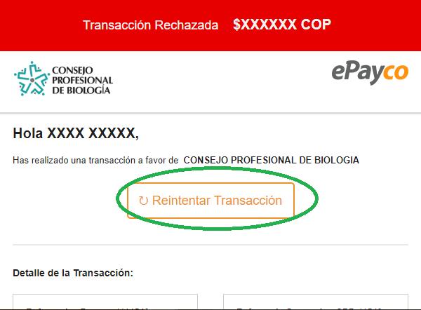 ¿Cómo retomar una transacción rechazada por PSE?