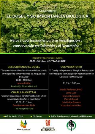 Conversatorio: EL DOSEL Y SU IMPORTANCIA BIOLÓGICA